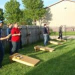 cornhole playing bags