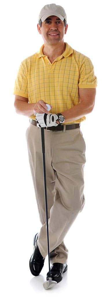 grundy chamber man golfer