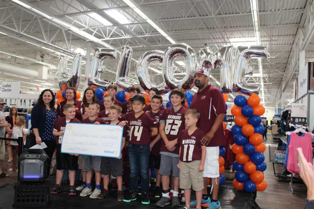 Walmart celebrates grand reopening