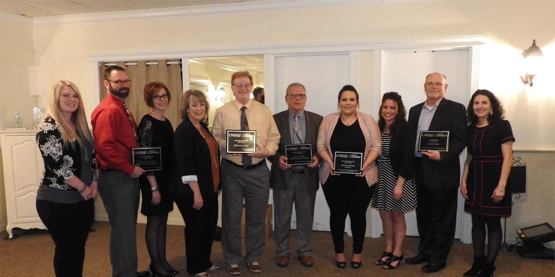 Chamber annual dinner winners